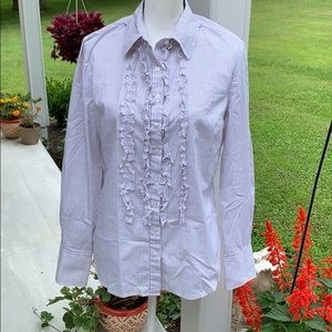 Large Tahari Ladies Button Down Top